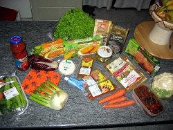secondi e verdura